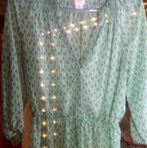 Green mossimo top